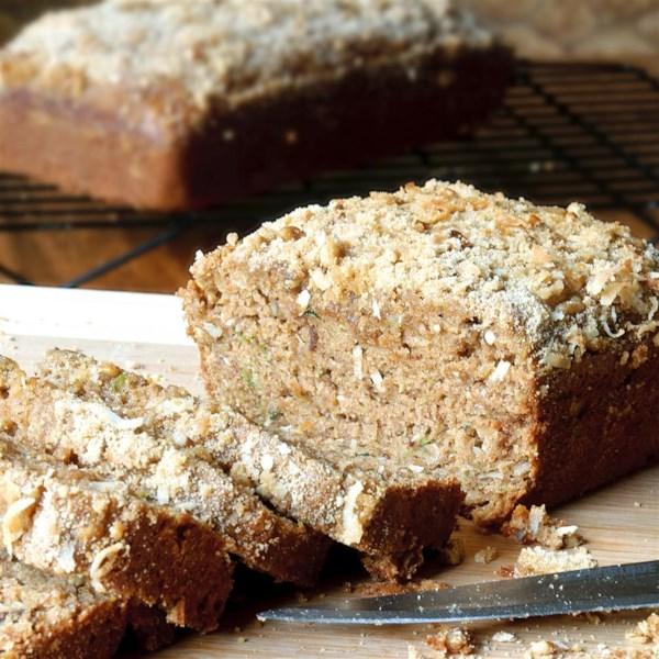 Receita de Pão de Abobrinha do Caribe