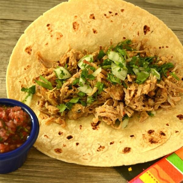 Receita de Carne de Porco Assada de Dee para Tacos