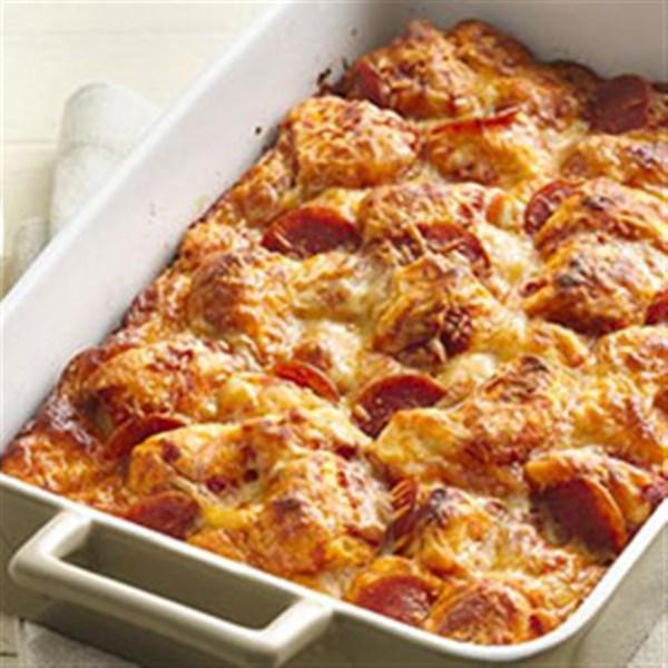 Grands! (R) Receita de Bolo de Pizza De Pepperoni