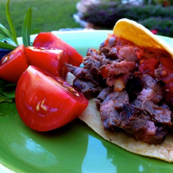 Carne Asada Tacos ou Al Pastor Tacos Receita