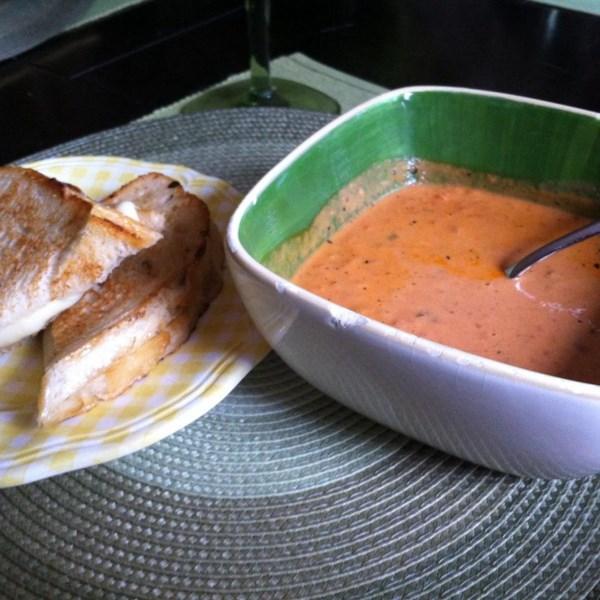 Receita de Bisque de Tomate Cremoso