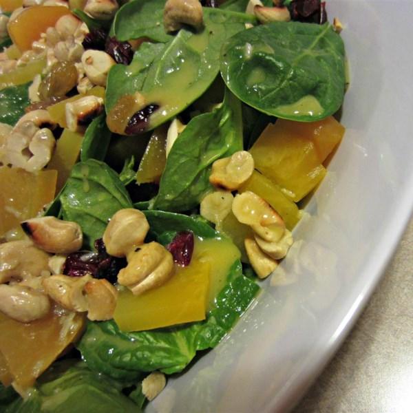 Receita de Salada de Beterraba Assada e Couve