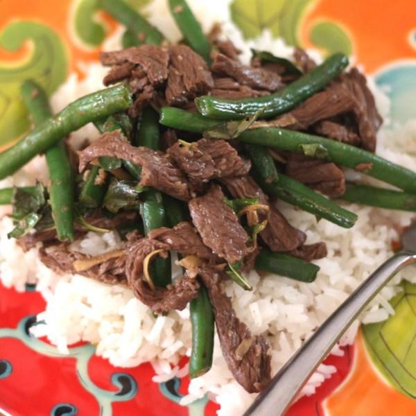 Receita de Carne Tailandesa