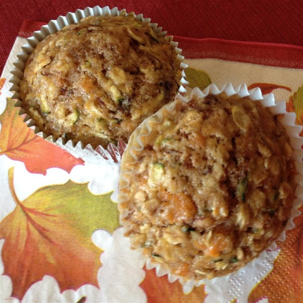 Receita de Muffins de Abobrinha de Batata Doce