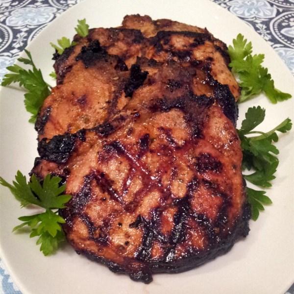Melhor receita de marinada de costeleta de porco