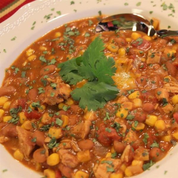 Sopa de Tortilla de Frango na Receita de Panela Lenta