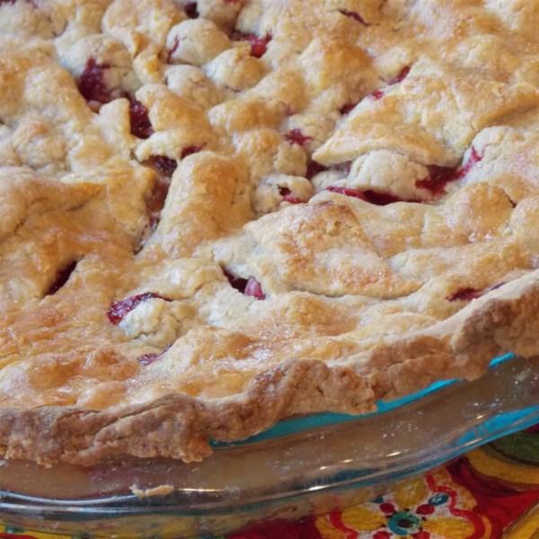 Receita de Torta de Maçã de Cranberry da mamãe