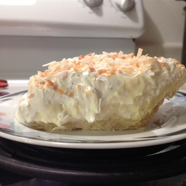 Receita de Torta de Creme de Coco I
