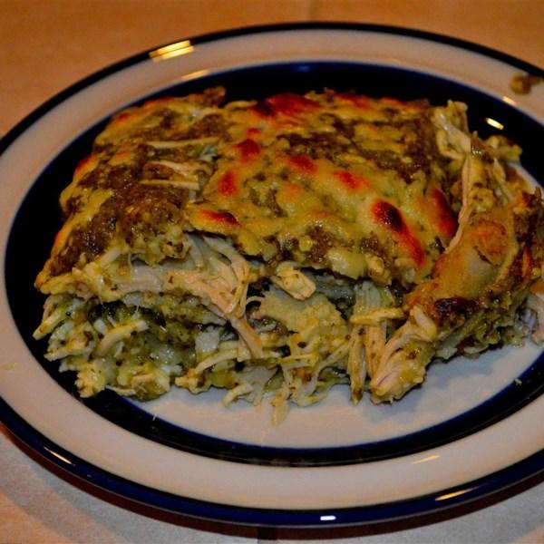 Receita de Frango Enchiladas Verdes