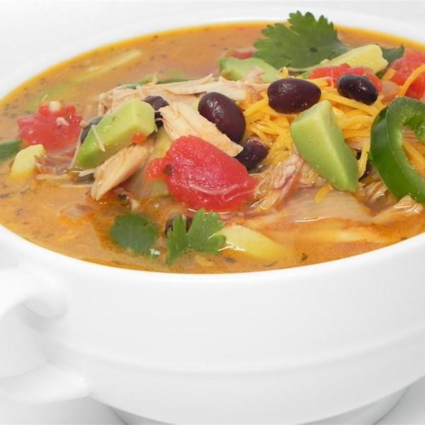 Receita de Sopa de Peru do Sudoeste