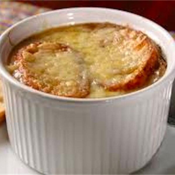 Receita de Sopa de Cebola Francesa de Outono