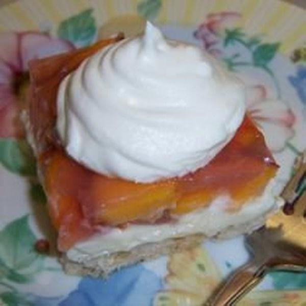 Receita de Pêssegos e Torta de Creme II