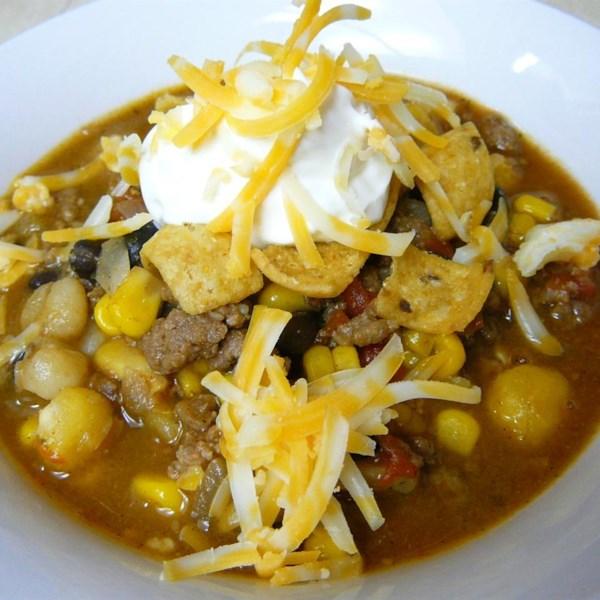 Receita de Taco Soup III