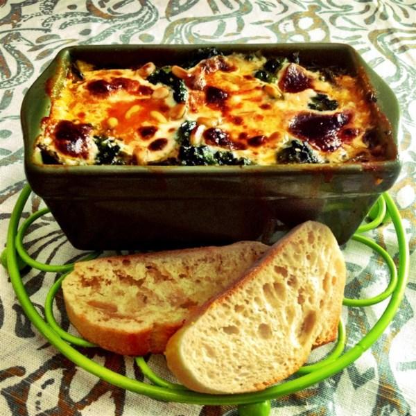 Receita de Lasanha pesto polenta