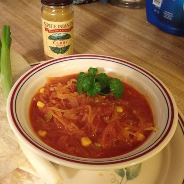 Receita de Sopa de Inverno Com Curry