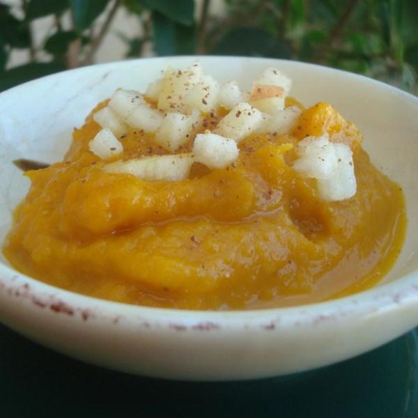 Receita de Sopa de Abóbora de Outono