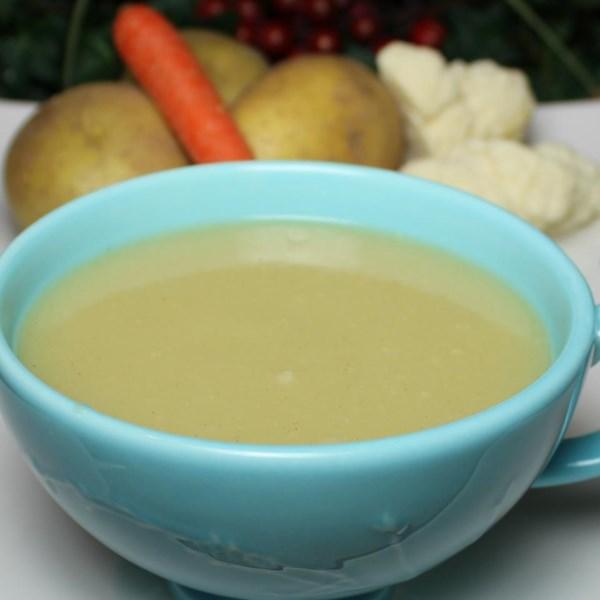 Receita de Sopa de Batata e Couve-Flor Mais Saudável