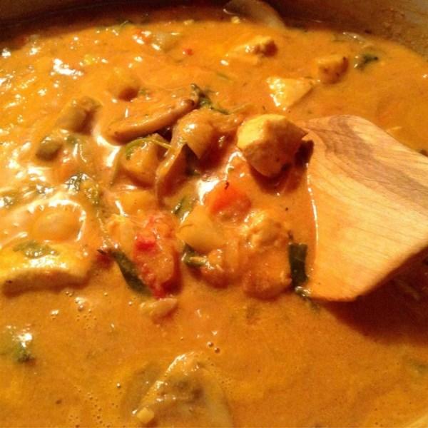 Receita de Curry de Frango de Coco Integral30(R)