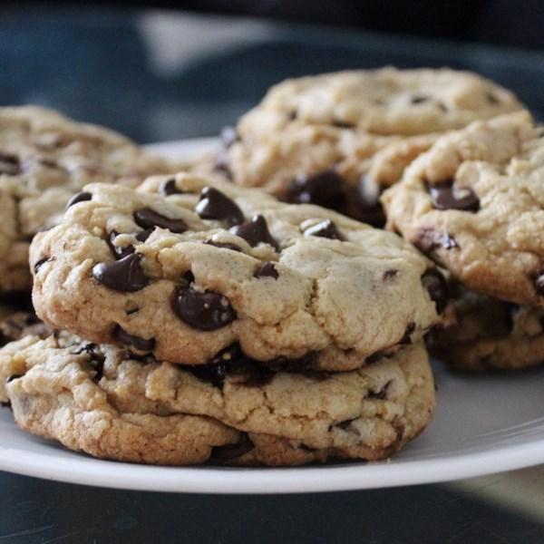Melhor receita de biscoito de chocolate grande, gordo e mastigado