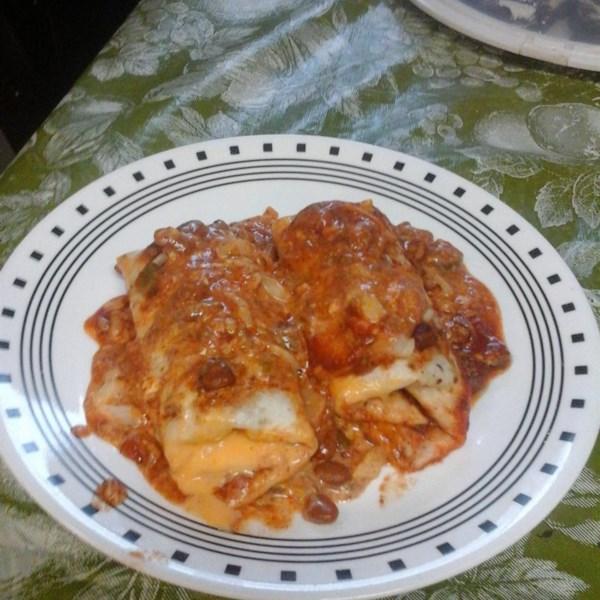 Receita de Tex-Mex Enchiladas