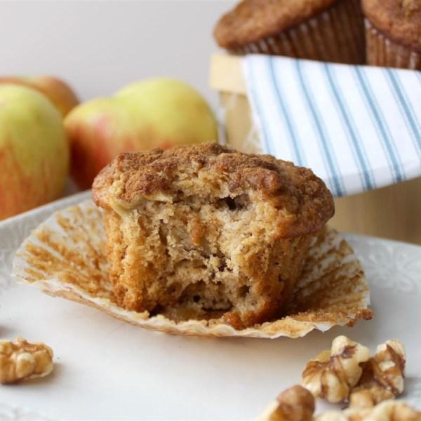 Receita de Muffins de Torta de Maçã
