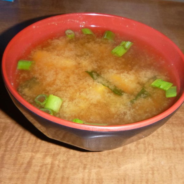Receita autêntica de sopa de miso