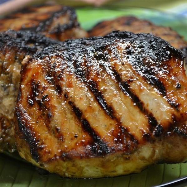 Receita de Costeletas de Lombo de Porco Jamaicana Grelhada