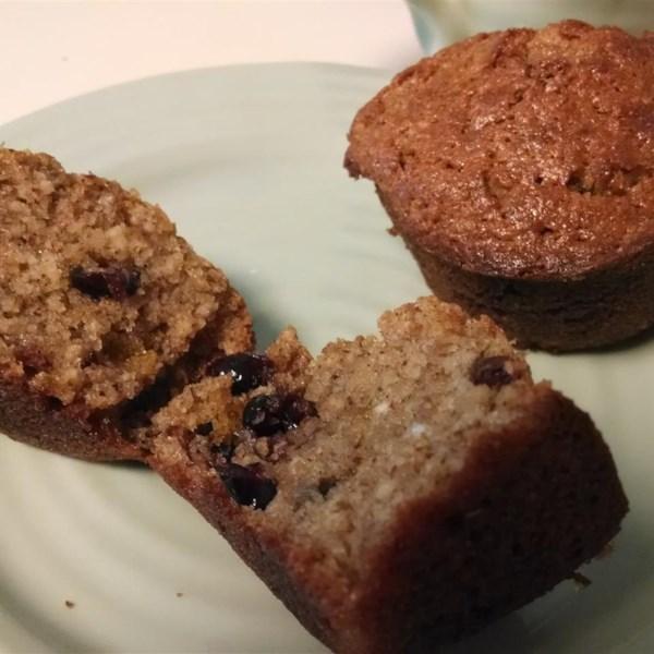 Receita de Muffins de Chocolate de Framboesa De Nozes