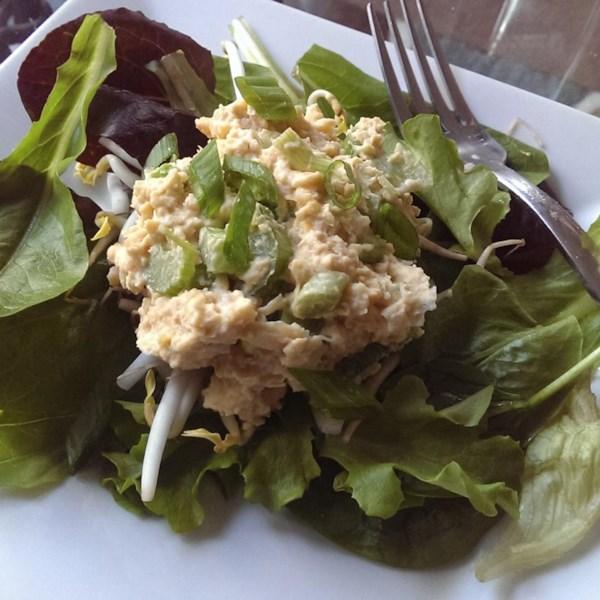Receita de Salada de Atum Simulada