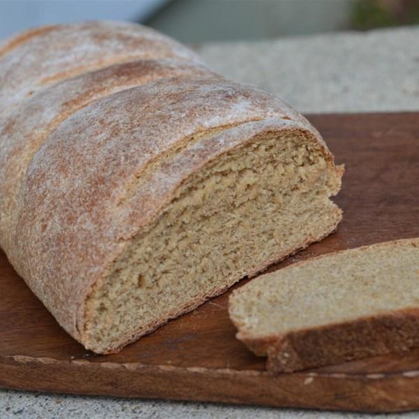 Receita caseira de pão de trigo de Tabitha