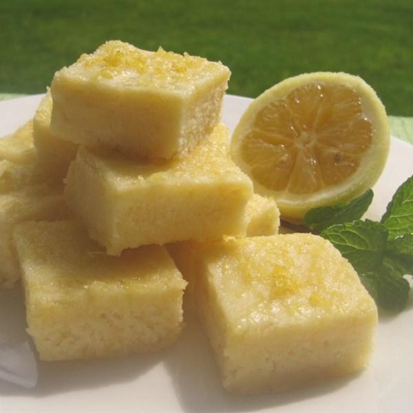 Receita de Lemon Squares III