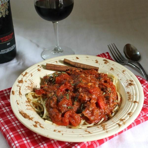 Receita de Molho de Espaguete de Grau de Campo