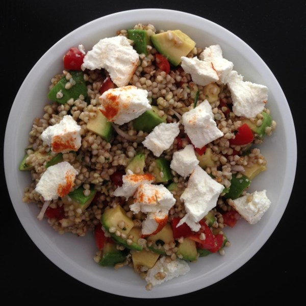 Receita de Salada de Abacate sem Glúten