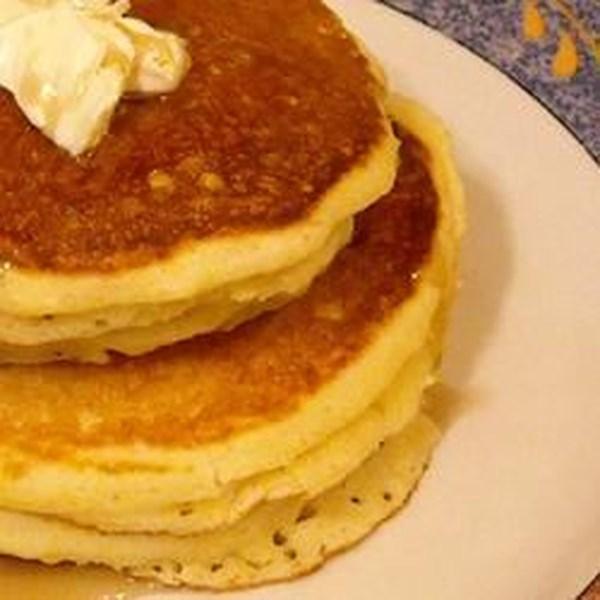 Receita de Panquecas de Muffin de Milho