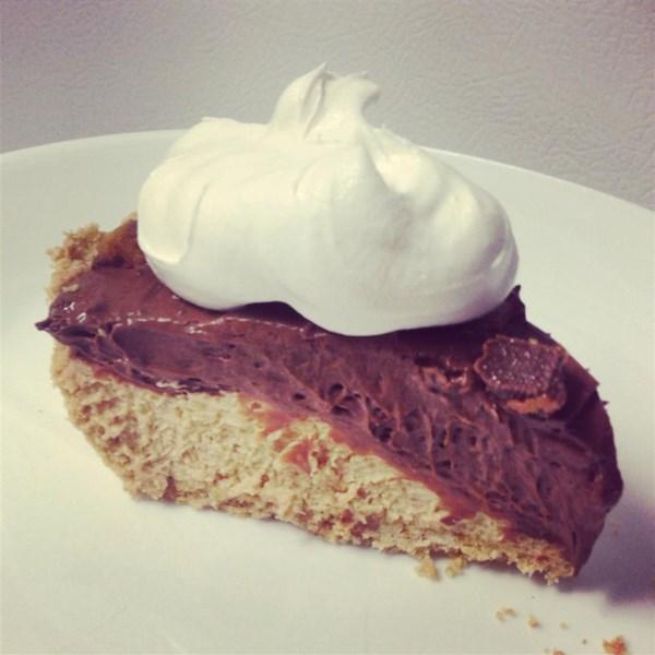 Receita de Torta de Manteiga de Amendoim de Chocolate de Camada Dupla