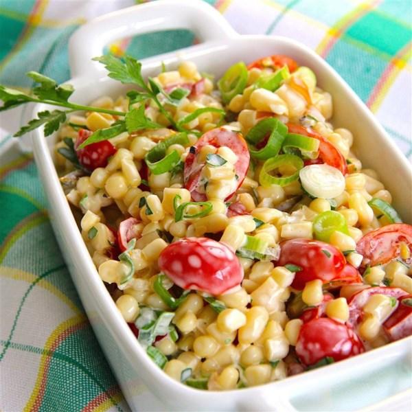 Receita de Salada de Milho Shoepeg
