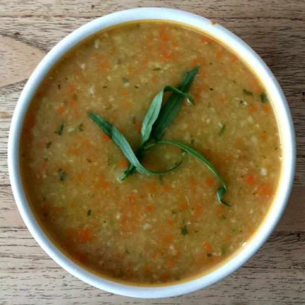 Receita de Cenoura, Batata e Sopa de Repolho
