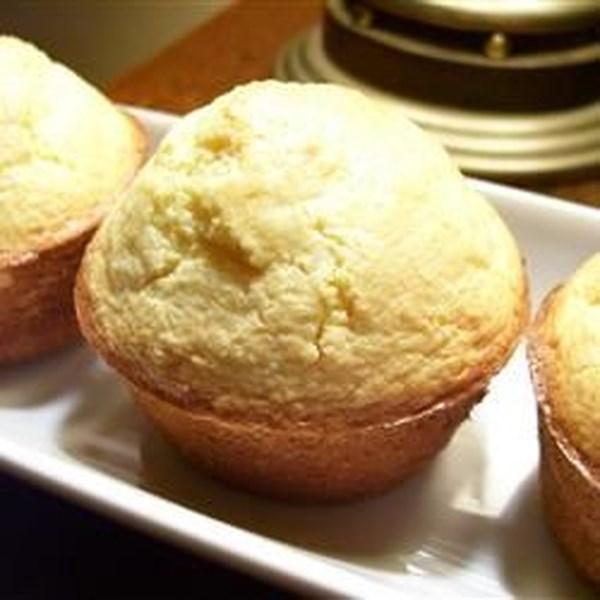 Receita fácil e rápida de muffins de milho