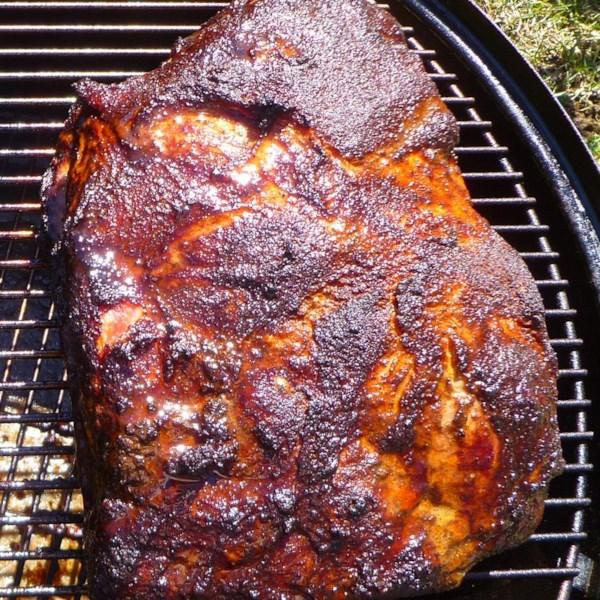 Bob's Pulled Pork on a Smoker Recipe