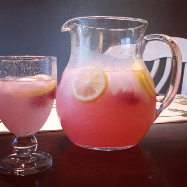 Receita de Limonada de Framboesa Fácil