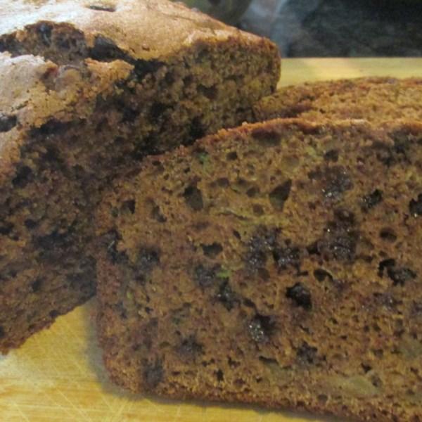 Receita de Pão de Abobrinha de Chocolate-Canela