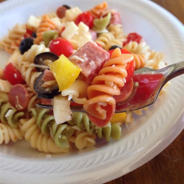 Receita de Salada de Massa Incrível