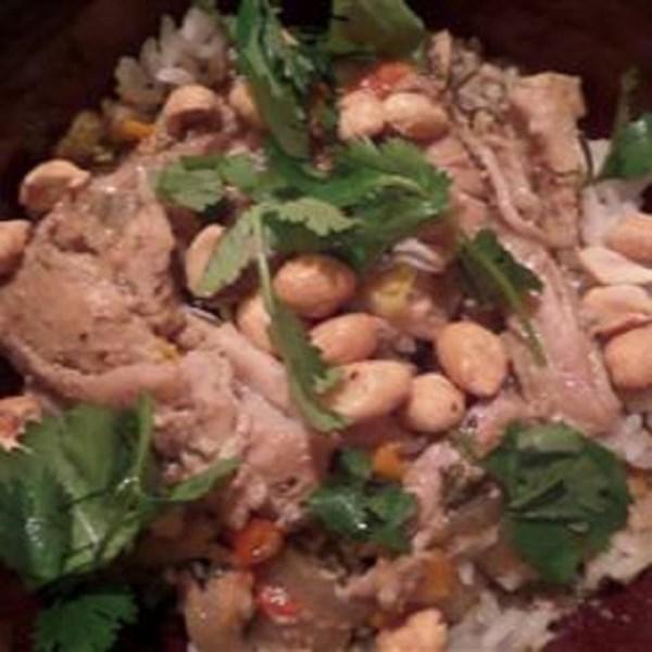 Becky's Slow Cooker Gluten-Free Thai Chicken Curry Receita