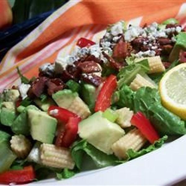Receita de Salada de Milho e Abacate