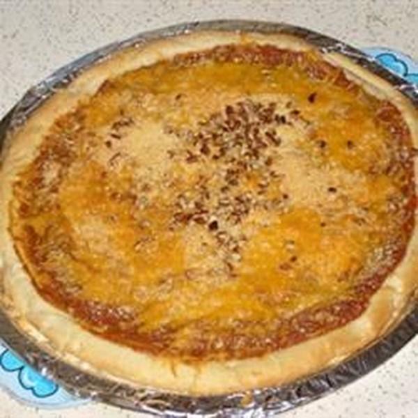 Receita de Pizza de Molho de Cranberry de Amanteigado