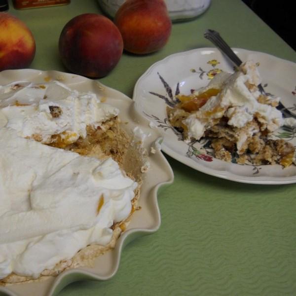 Receita de Torta de Pêssego da Geórgia