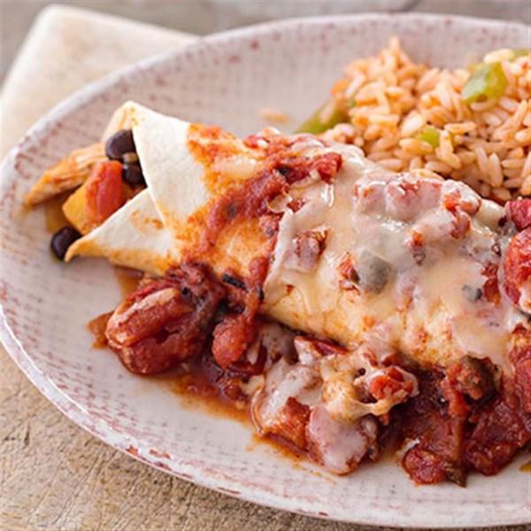 Fácil Frango Enchiladas da Receita Reynolds(R)