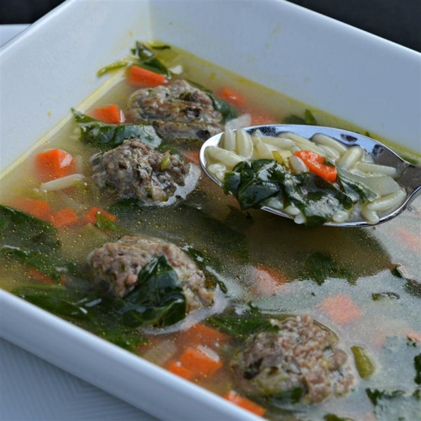 Receita de Sopa de Casamento Italiana da Califórnia