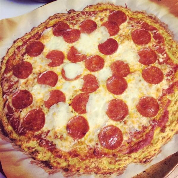 Receita de Crosta de Pizza de Abóbora de Verão