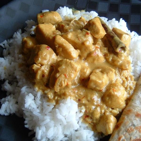 Receita de Frango Indiano Picante Curry Yummy